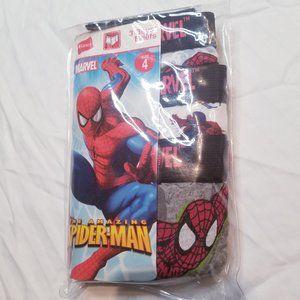 2006 Size 4 Spiderman Underwear Brief